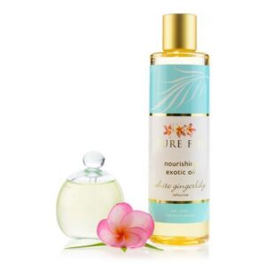 Pure Fiji White Gingerlily Exotic Bath and Body Oil